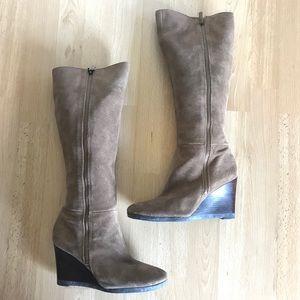 Franco Sarto Lara Wedge Heeled Boots